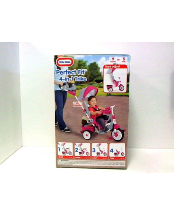 mga std LITTLE TIKES 4w1 rowerek różowy 639654