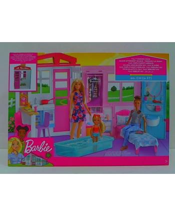 mattel Barbie przytulny domek z wyposażeniem FXG54 /2