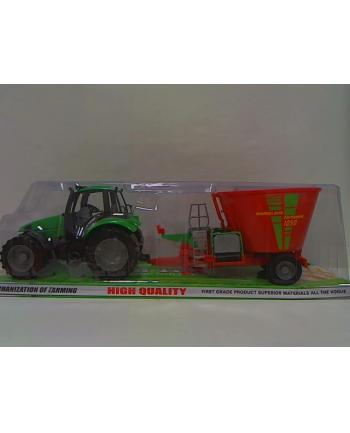 pegaz Traktor duży z przyczepą mix 69895
