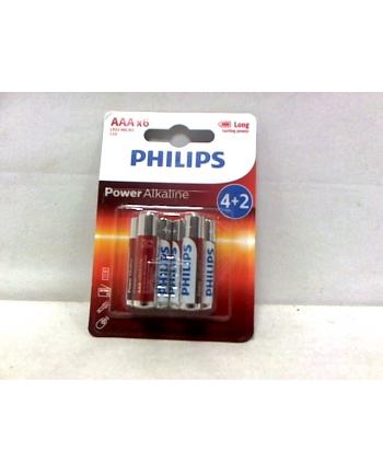 Bateria PHILIPS LR3 ALKALICZNA
