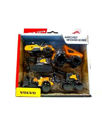 simba Dickie 5-pak pojazdów budowlanych Volvo 372-2008