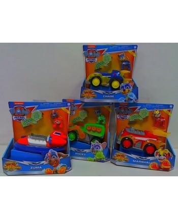 spin master SPIN Psi Patrol MightyPups pojazdy św/dźw 6053026