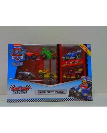 spin master SPIN Psi Patrol MightyPups wyścigówki 6pak 6054522