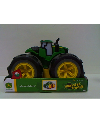 TOMY.John Deere Mega traktor świecące opony 46644