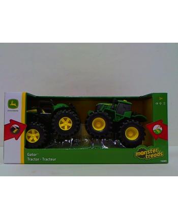 TOMY.John Deere traktor Monster 2-pak św/dźw 46670