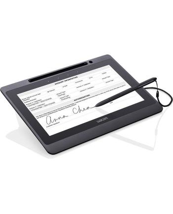 Wacom Signature Set DTU-1141 B Graphics Tablet(black, incl. Sign pro PDF software for Windows)