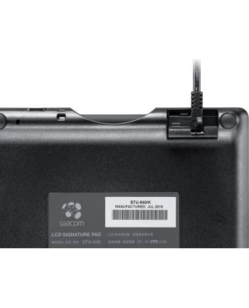 Wacom 5-inch color Signature Pad STU-540 graphics tablet(black, incl. Sign pro PDF software for Windows)