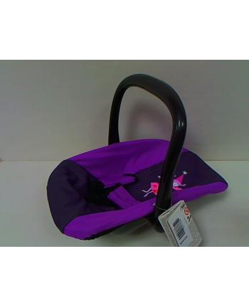 BAYER Fotelik samochodowy fiolet/róż 67612AA