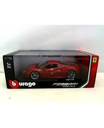 BBU 1:18 Ferrari 488 GTB Red 16008