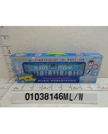 dromader Pianinko niebieskie w pudełku 1038146