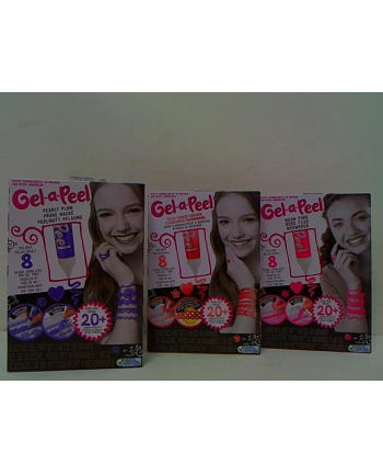 mga hit !!!GEL-A-PEEL starter kit 3 rodz/4 04652