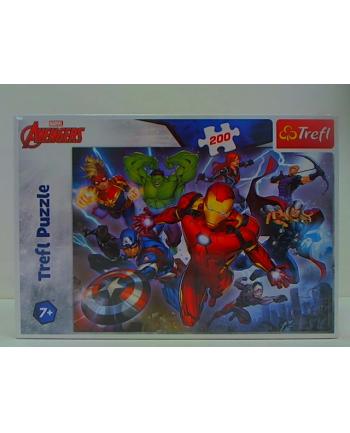 trefl PUZZLE 200 Waleczni Avengersi /Disney Marvel 13260