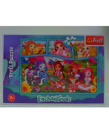 trefl PUZZLE 200 Niezwykły świat Enchantimals 13261