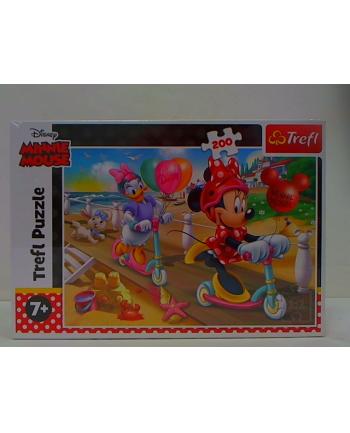 trefl PUZZLE 200 Minnie na plaży/Disney 13262