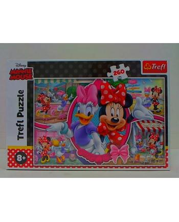 trefl Puzzle 260 Wesoły dzień Minnie 13263