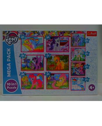 trefl PUZZLE 10w1 Magiczny świat kucyków/HasbroMLP 90353