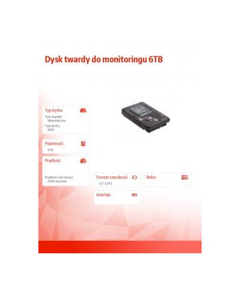 axis Dysk twardy do monitoringu 6TB