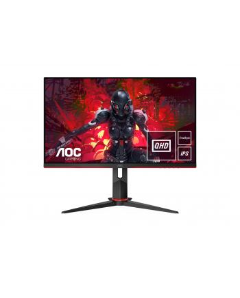 aoc Monitor Q27G2U/BK 27'' VA 144Hz HDMIx2 DP Pivot