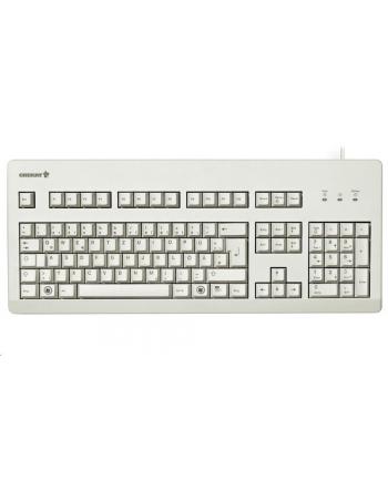 CHERRY G80-3000 - Keyboard - PS / 2, USB - English - US - Light gray