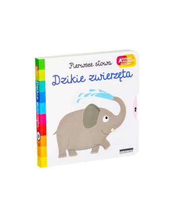 egmont Książka Dzikie zwierzęta. Akademia mądrego dziecka. Pierwsze słowa.