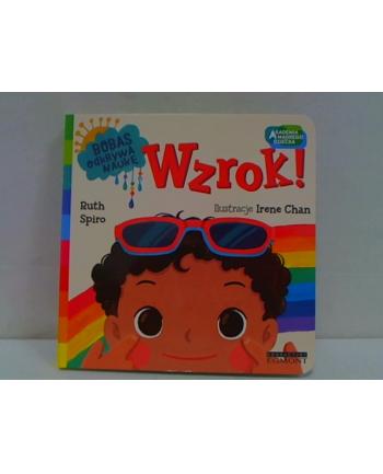 egmont Książka Wzrok! Akademia mądrego dziecka. Bobas odkrywa naukę.