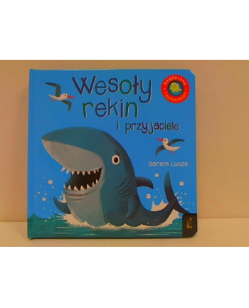 foksal Książka rozkładanka. Wesoły rekin i przyjaciele.