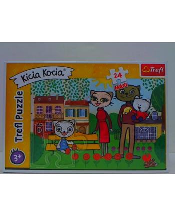 Puzzle 24-Maxi zabawy Kici Koci 14316 TREFL