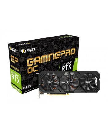 palit Karta graficzna GeForce RTX 2070SUPER GamingPro 8GB DDR6 256bit