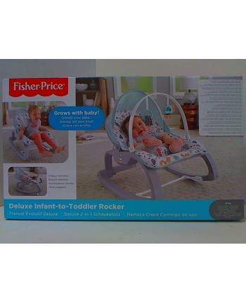 Fisher-Price BG Fotelik-bujaczek pastelowy Od niemowlaka do przedszkolaka GMD21 p3  MATTEL