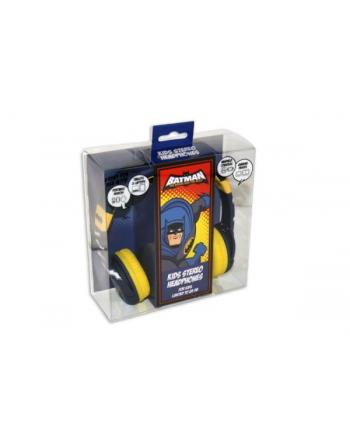 globix Słuchawki dla dzieci Batman niebiesko-żółte DC0260
