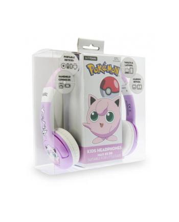 globix Słuchawki dla dzieci Pokemon Jiglypuff różowe PK0568