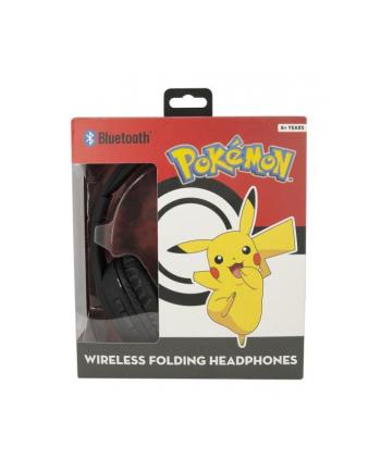 globix Słuchawki bluetooth Pokemon czarne PK0668