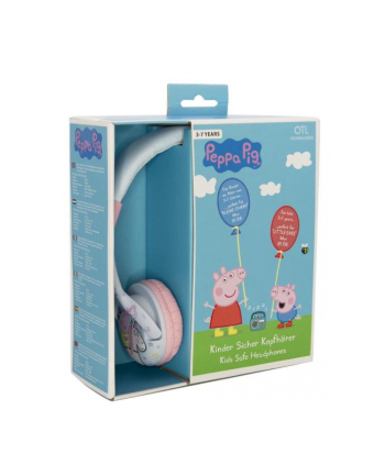globix Słuchawki dla dzieci Peppa Pig Jednorożec PP0696D