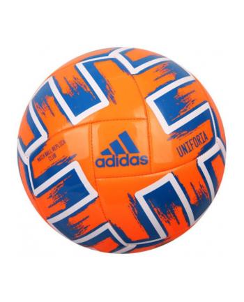 Piłka nożna ADIDAS UNIFORIA Club pomarańczowa 22631 SPOKEY