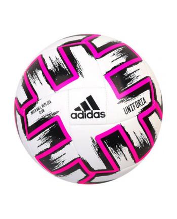 Piłka nożna ADIDAS UNIFORIA Club różowa 22632 SPOKEY