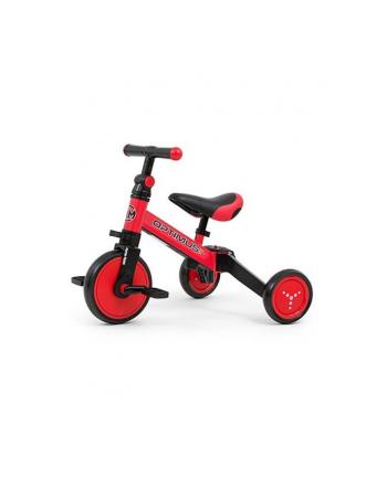 Rowerek 3w1 Optimus czerwony 2712 MILLY MALLY
