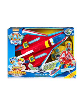 PAW PATROL / PSI PATROL Odrzutowiec 2w1 Mighty Pups 6053098 Spin Master