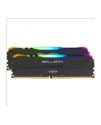 crucial Pamięć DDR4 Ballistix RGB 32/3200 (2*16GB) CL16 BLACK