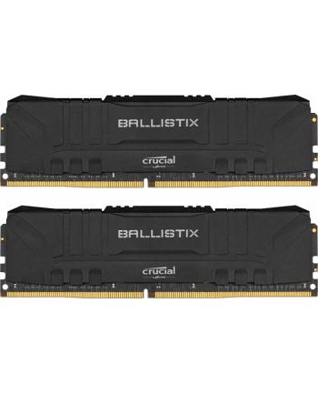 crucial Pamięć DDR4 Ballistix 16/3000 (2*8GB) CL15 BLACK
