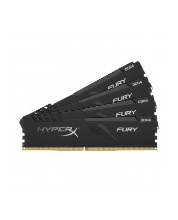 hyperx Zestaw pamięci DDR4 Fury Black 128GB/2666 (4x32GB) CL16
