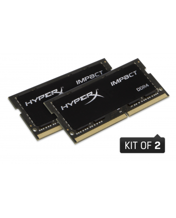 hyperx Pamięci DDR4 SODIMM IMPACT 64GB/2933 (2x32GB) CL17