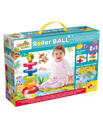 lisciani giochi Carotina Baby Roller Ball 76482 LISCIANI