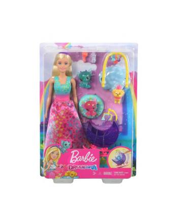 Barbie Dreamtopia Baśniowe przedszkole Księżniczka smoki i szczeniaczek GJK51 p6 MATTEL