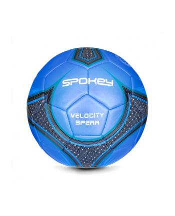 Piłka nożna VELOCITY SPEAR niebiesko-czarna 920053 SPOKEY