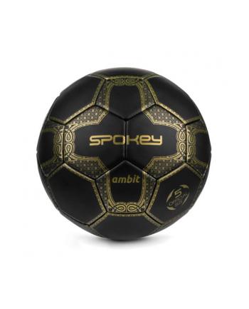 Piłka nożna ambit czarno-złota 925388 SPOKEY