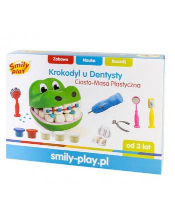 smily Ciasto-Masa Plastyczna Krokodyl u dentysty
