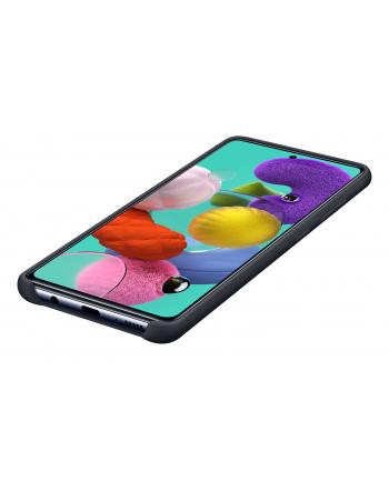 Etui do Galaxy A51 Silicone Cover czarne