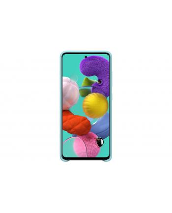 Etui do Galaxy A51 Silicone Cover niebieskie