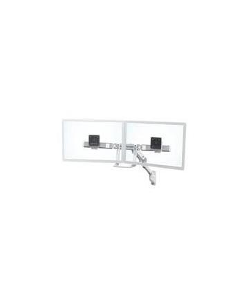 ERGOTRON uchwyt ścienny HX Wall Dual Monitor Arm White