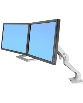 ERGOTRON Uchwyt na biurko HX Desk Dual Monitor Arm White